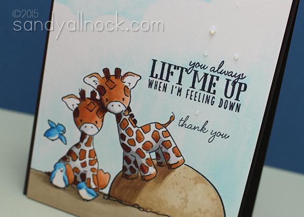 Sandy Allnock - Coloring Giraffes 2