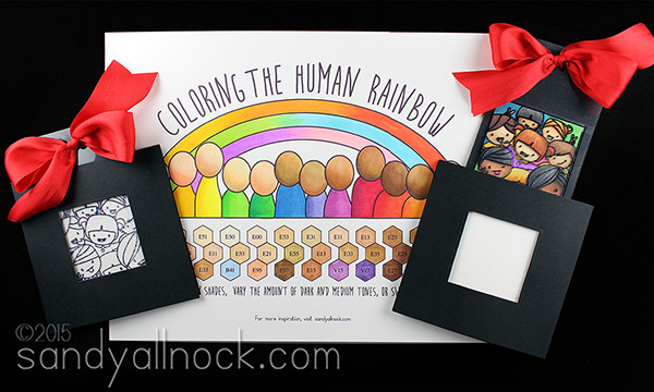 How to color ethnic skintones: #thehumanrainbow