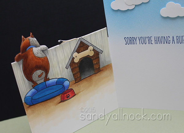 Sandy Allnock - Inside Outside Card 2