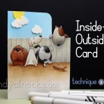 Inside Outside Card: Make My Tail Wag