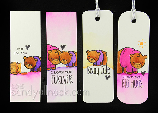 Sandy Allnock TGF Bear Tags