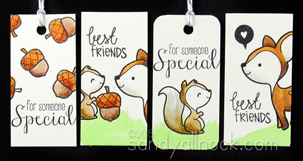 Sandy Allnock - Wood Friends Tags