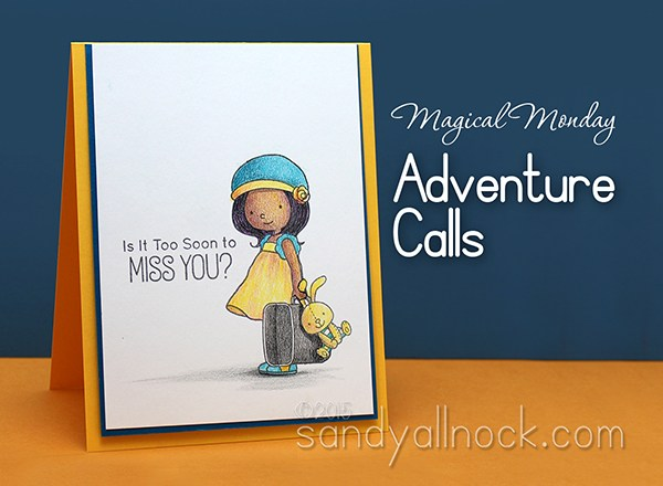 Magical Monday: Adventure Calls (Colored Pencil)