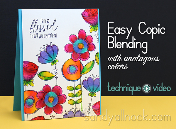 Easy Copic Blending with analagous colors – Doodle Buds