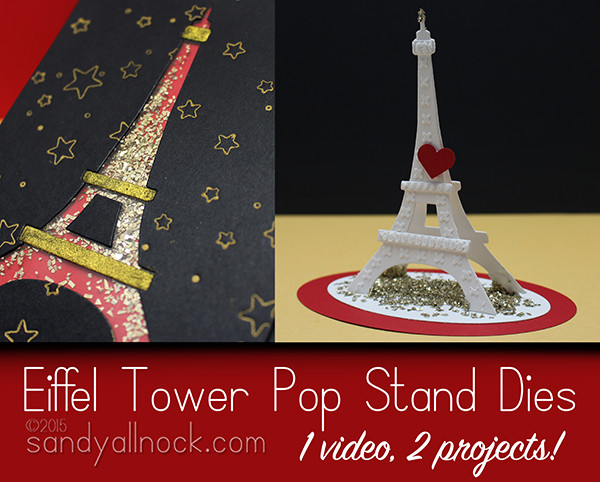 Paris: Eiffel Tower Pop Stand Die
