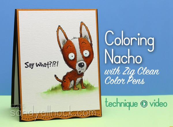 Nacho in Clean Color Marker