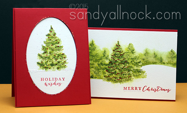 Sandy Allnock Christmas Trees