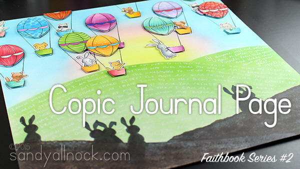 Faithbook Series 2: Copic Art Journal Page
