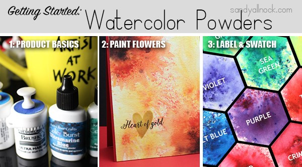 Getting Started: Watercolor Powders