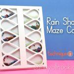 Rain Shaker Maze Card