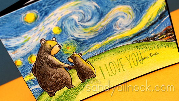 Sandy Allnock - Starry Night Inktense Pencils