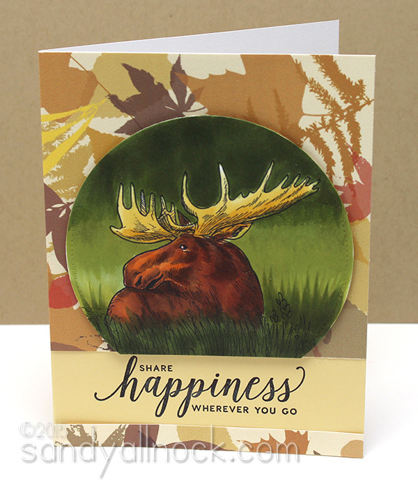Sandy Allnock Hybrid Cardmaking moose