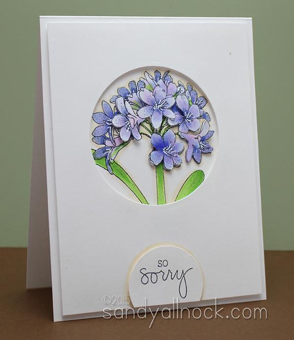 Sandy Allnock Sympathy Cards
