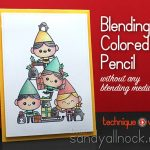 Blending Colored Pencil: Christmas Spirit