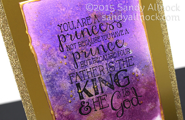 Sandy Allnock Faithbook4 Purple