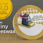 Day 6: Go for the Gold: Shiny Beeswax