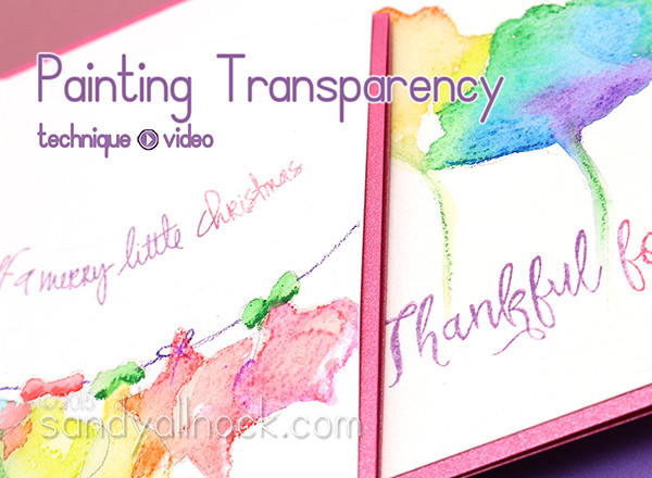 Painting Transparency