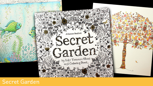 Adult Coloring Books Secret Garden