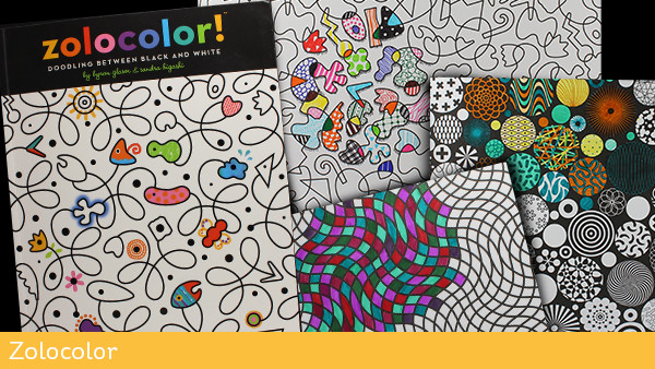 Adult Coloring Books Zolocolor
