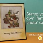 "Stamp your own ""family photo"" card"