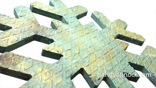 Sandy Allnock Vintage Snowflake