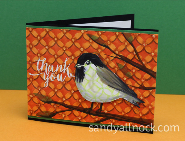Sandy Allnock Chickadee cards 1