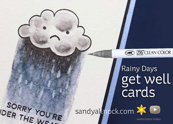 Rainy Days Get Well Cards