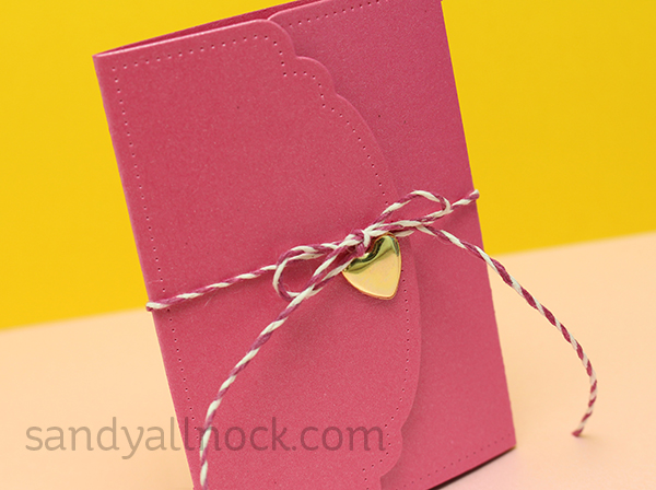 Sandy Allnock Peekaboo Valentine