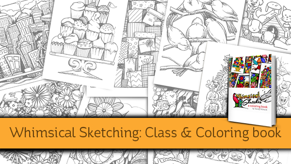 New site…new class…new coloring book!