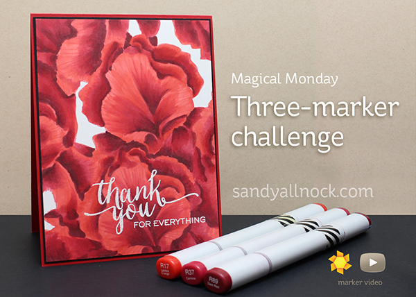 Magical Monday: Three Marker Challenge