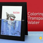 Copic Coloring Transparent Water