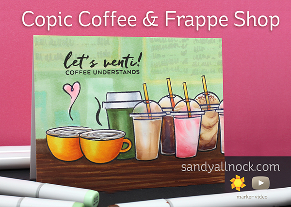 Magical Monday: Copic Coffee and Frappe Shop