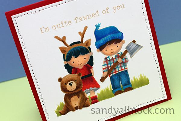 Sandy Allnock No Line Lumberjack Love