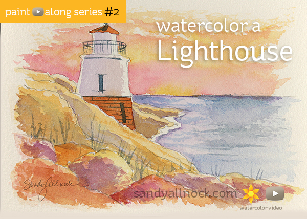 Paint-Along Series #2: Lighthouse