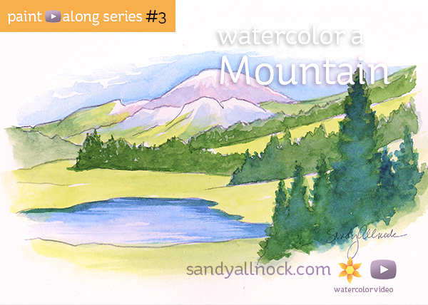 Paint-Along Series #3: Mountain