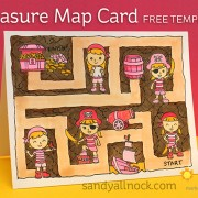 Sandy Allnock Treasure Map Card
