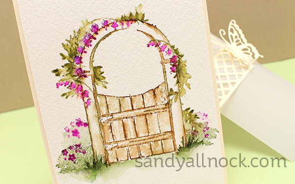 Sandy Allnock Art Impressions WC gate