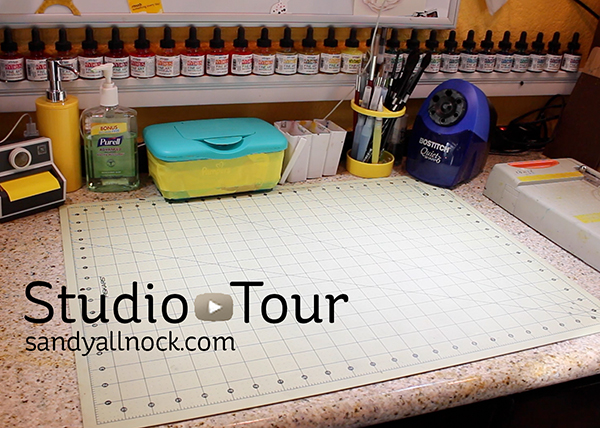 Studio Tour – and 7 tips for crafty organization