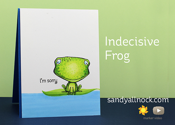 Indecisive Frog: Freckles