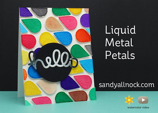 Liquid Metal Petals