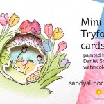 Mini Tryfold Cards
