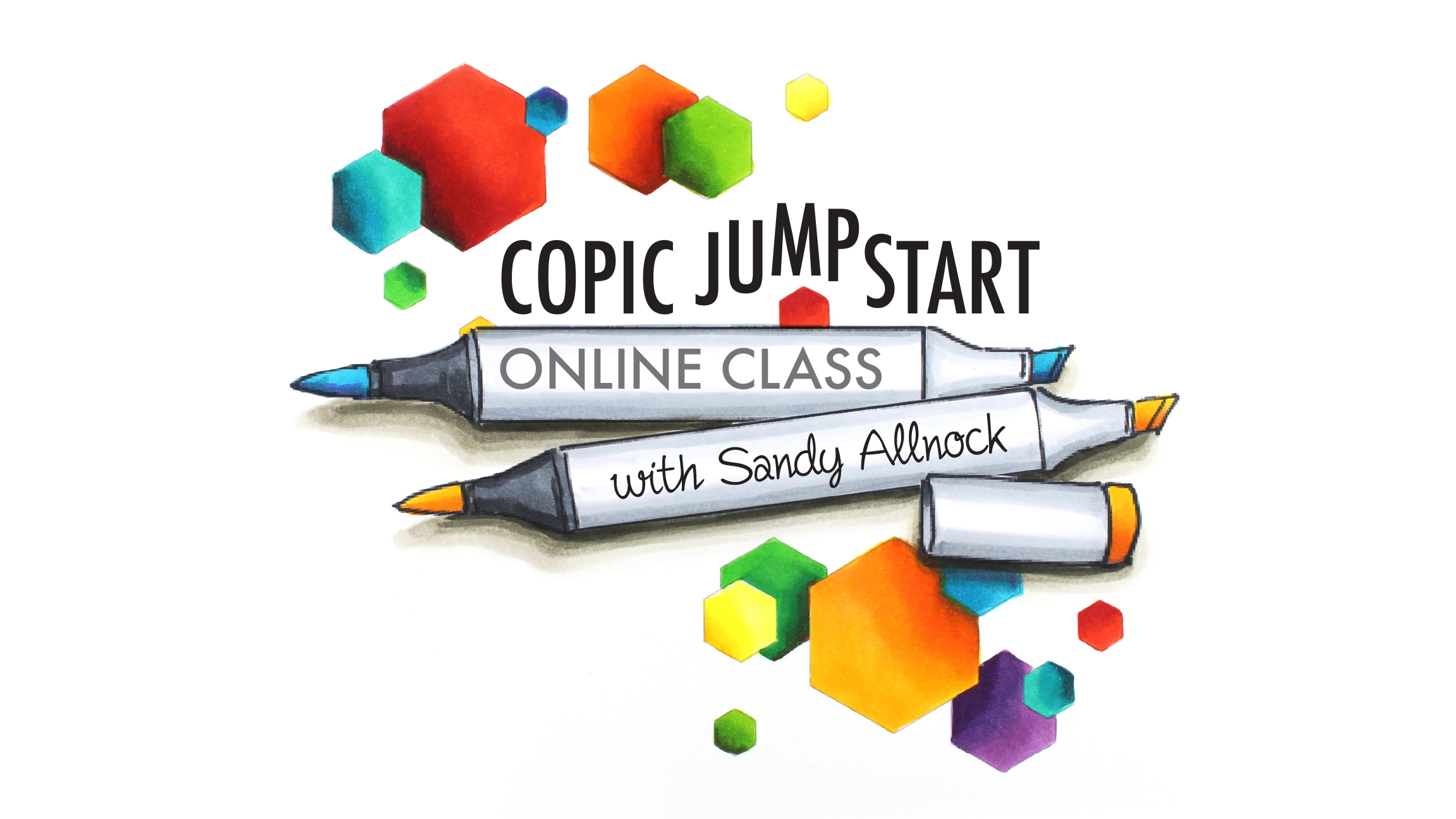 Copic Jumpstart: Online Copic Class coming May 27, 2016!
