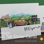 Pull-Tab Slider Card, Hero Arts bloghop