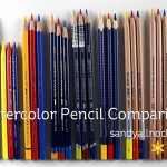 Watercolor Pencil Comparison