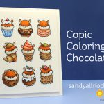 Copic Coloring Chocolate – and other sweets