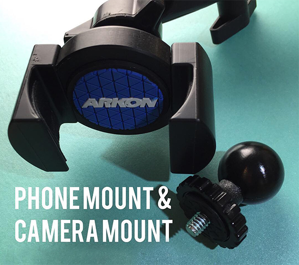 Arkon phone stand for live-broadcasting artists