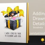 Adding Drawn Details: Allboxedupabella giveaway