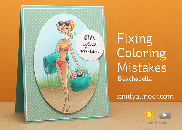 Fixing Coloring Mistakes:  Beachabella