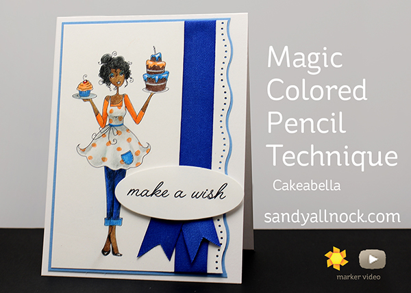Magic Colored Pencil Technique (MCPT): Cakeabella