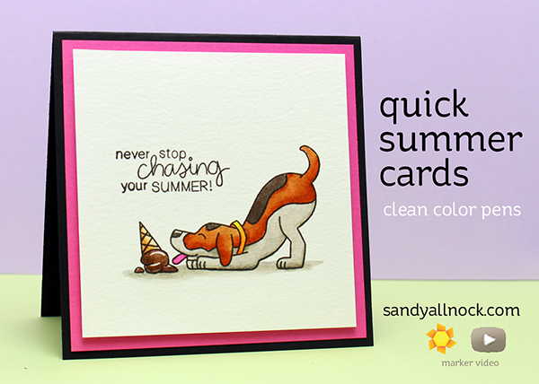 Quick Summer Cards – Newtons Nook Designs Bloghop